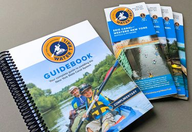 New York State Canalway Water Trail Guidebook and Map Set