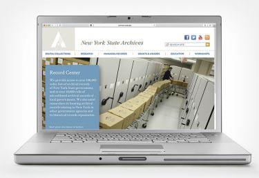 New York Archives Website