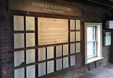 Gysbert's Inventory Exhibit