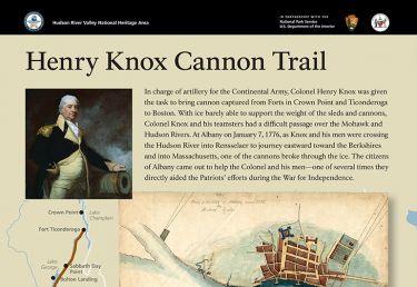 Knox Trail Interpretive Sign