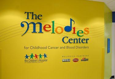 Melodies Center Signage