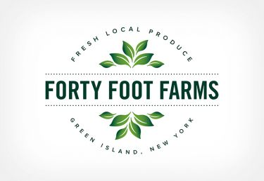 Forty Foot Farms Identity