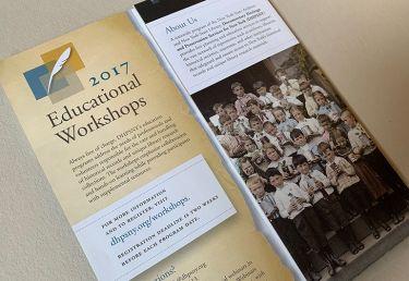 DHPSNY Workshops Brochure
