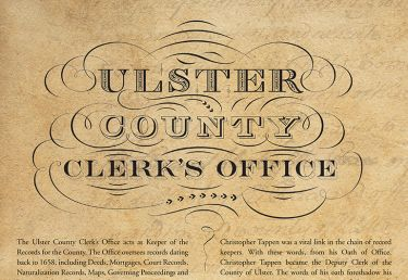 Ulster County Clerk's Office Archives Gallery