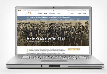 New York State Military Museum Website